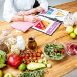 Gedeckter Tisch Ernährungsberater